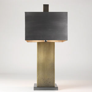 Studio A Tortoise Two-Light Lamp
