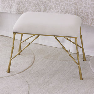 Studio A Spike Bench with Muslin Cushion