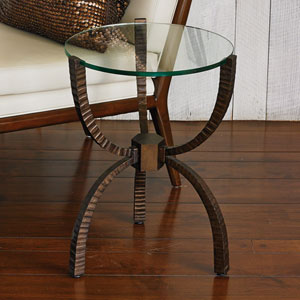 Studio A Teaton Bronze Accent Table