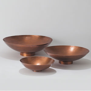 Studio A Copper Large Indira Bowl Only