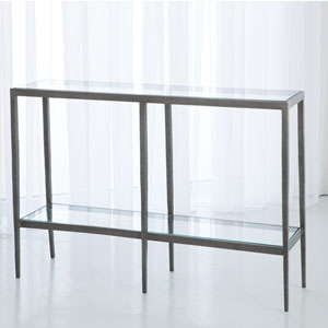 Studio A Laforge Iron and Brass Braising Console