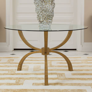 Studio A Teton Gold 48-Inch Table
