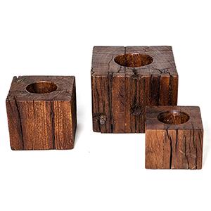 Studio A Lingam Large Wooden Base