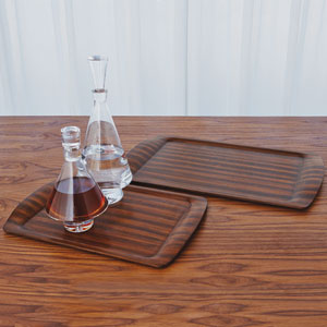 Pressed Zebra Wood Small Tray