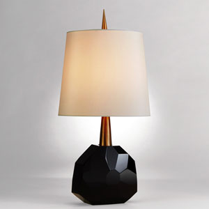 Gem Polished Brass Lamp