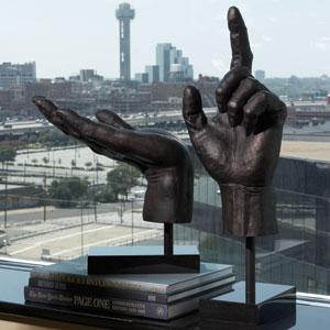 Upward Hand Sculpture