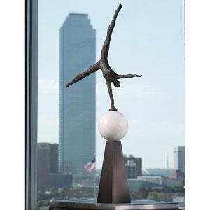 Modern Acrobat Sculpture