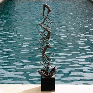 Diver Sculpture
