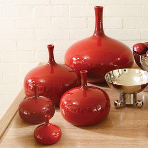 Tomato Medium Vase