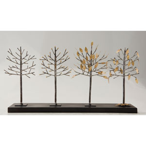 Four-Seasons Tree Sculpture