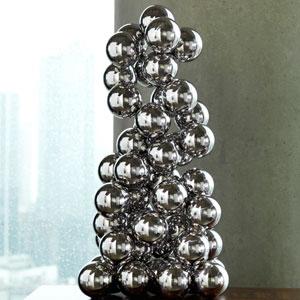 Sphere Nickel Sculpture