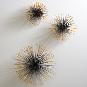 Boom Brass Large Wall Sculpture