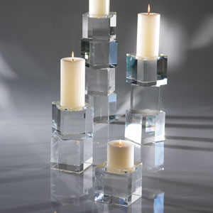 Scalier Small Pillar Candleholder