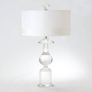 Classic Bulb Crystal One-Light Lamp