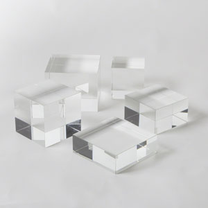 Crystal Cube Medium Riser