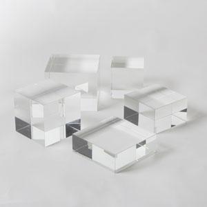 Crystal Cube Small Riser
