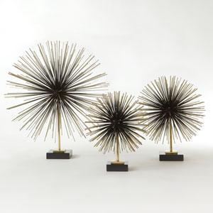 Boom Brass Medium Tabletop Sculpture