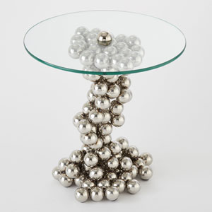 Nickel Sphere Table