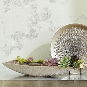 Organic Lace Silver Bowl