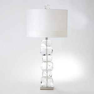 Stacked Gemstone Tall One-Light Lamp