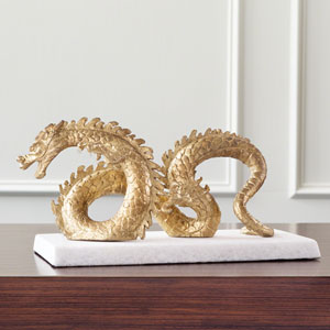 Gold Leaf Dragon