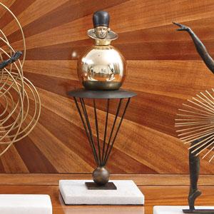 Bauhaus Sphere Man Figurine