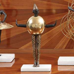 Bauhaus Sphere Woman Figurine