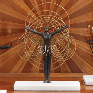 Bauhaus Wire Woman Figurine