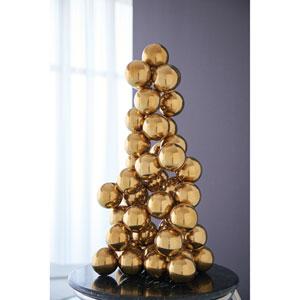 Sphere Brass Sculpture