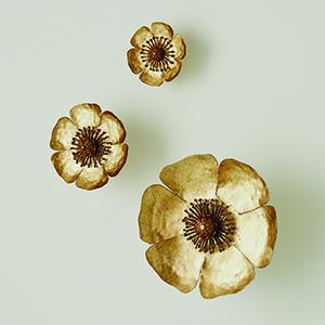 Golden Poppies, Set of 3