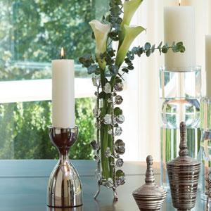 Bauhinia Bud Nickel Vase