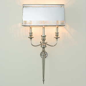 French Electrified Two-Light Sconce
