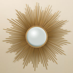 Sunburst Gold Mirror