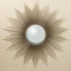 Sunburst Nickel Mirror