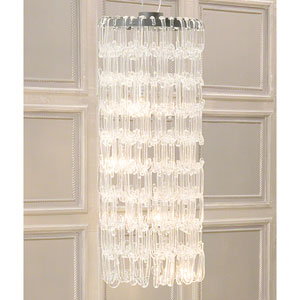 48-Inch C Four-Light Chandelier