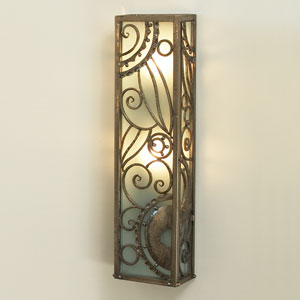 Paris Nickel Two-Light Wall Sconce