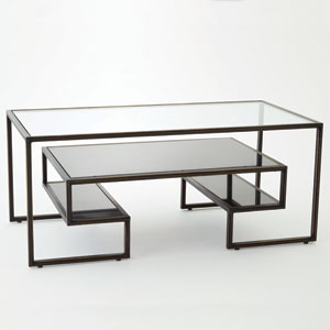 One Up Bronze Cocktail Table