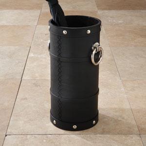 Ring Black Umbrella Stand