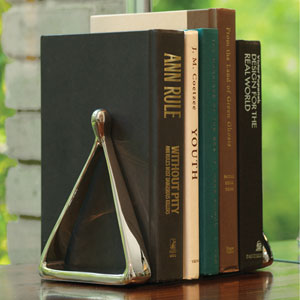 Stirrup Nickel Bookends
