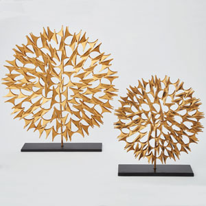 Cosmos Gold Small Sculpture