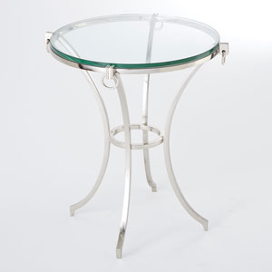 Ring Gueridon Iron Table