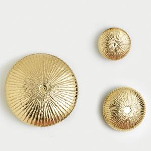 Sea Urchin Small Gold Wall Sculpture