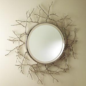 Nickel Twig Mirror