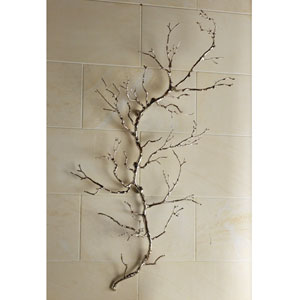 Nickel Twig Wall Art