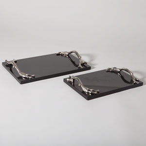 Black Large Twig Tray Only