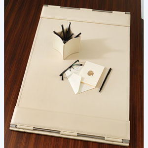 Flap Ivory Desk Blotter