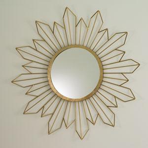 Radiance Gold Mirror