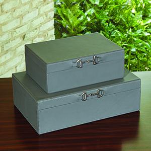 Stirrup Large Grey Detail Box