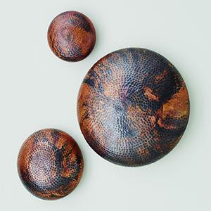 Burnt Copper Medium Wall Disc
