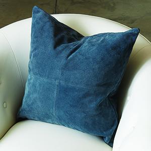 Four Square Sapphire Pillow